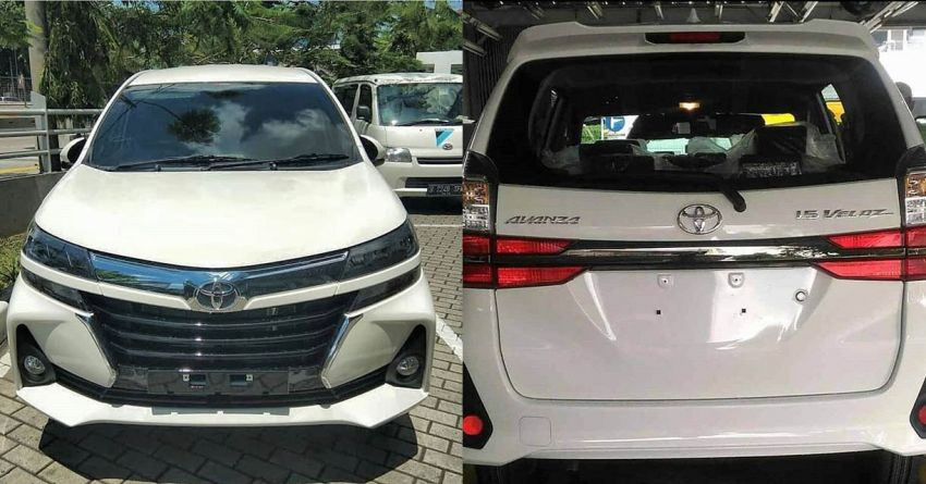 2019 Toyota Avanza Facelift Exposed Ahead of Debut 1