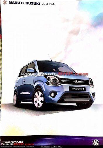 2019 Maruti WagonR Teased Ahead of Debut 2