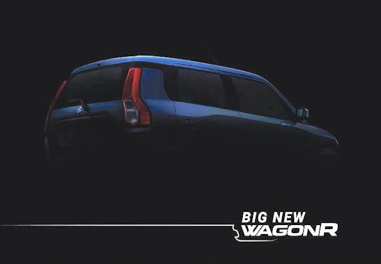 2019 Maruti WagonR Teased Ahead of Debut 1