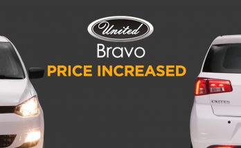 United Bravo Price Increased 9