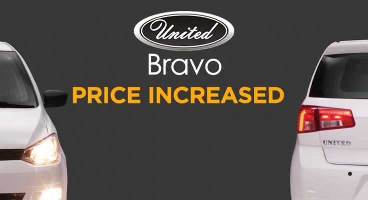 United Bravo Price Increased 1