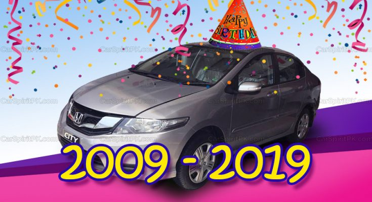 5th Gen Honda City Becomes 10 Years Old in Pakistan 1