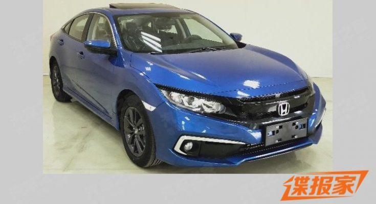 2019 Honda Civic Facelift Reaching China 2