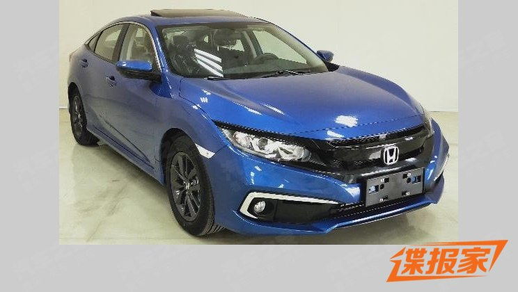 2019 Honda Civic Facelift Reaching China 5