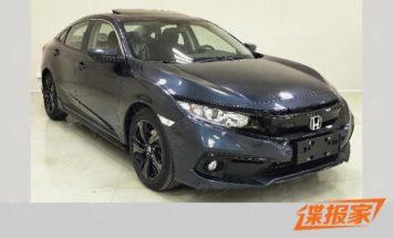 2019 Honda Civic Facelift Reaching China 1