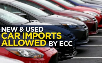 ECC Allows Car Imports- Duty to be Paid in Dollars 23