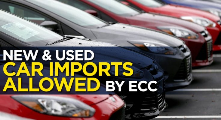 ECC Allows Car Imports- Duty to be Paid in Dollars 1