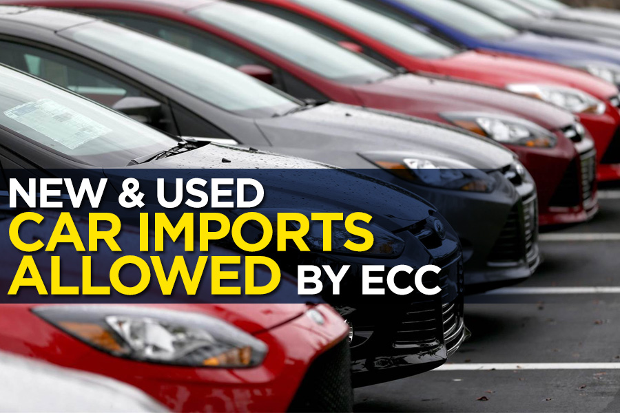 ECC Allows Car Imports- Duty to be Paid in Dollars 2