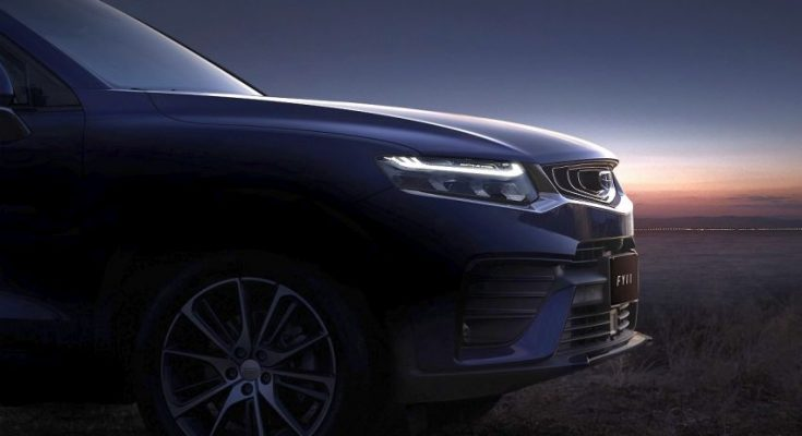 First Official Photos of Geely FY11 Coupe SUV 1