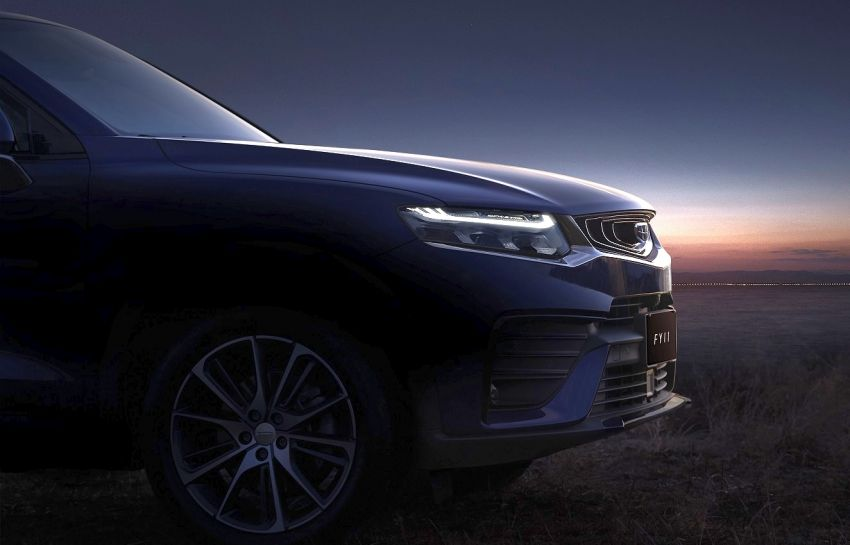 First Official Photos of Geely FY11 Coupe SUV 4
