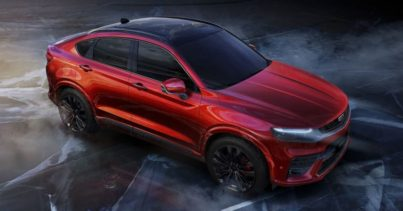 First Official Photos of Geely FY11 Coupe SUV 3