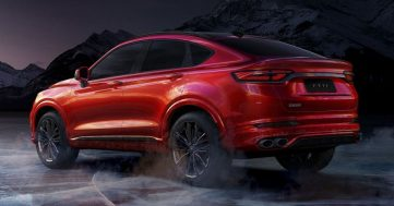 First Official Photos of Geely FY11 Coupe SUV 10