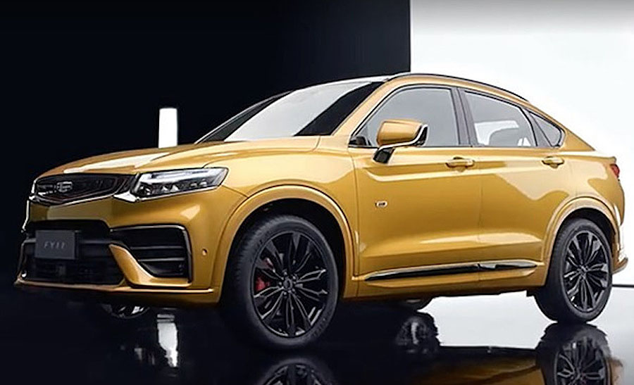 Geely Plans to Launch 6 New Models in 2019 2