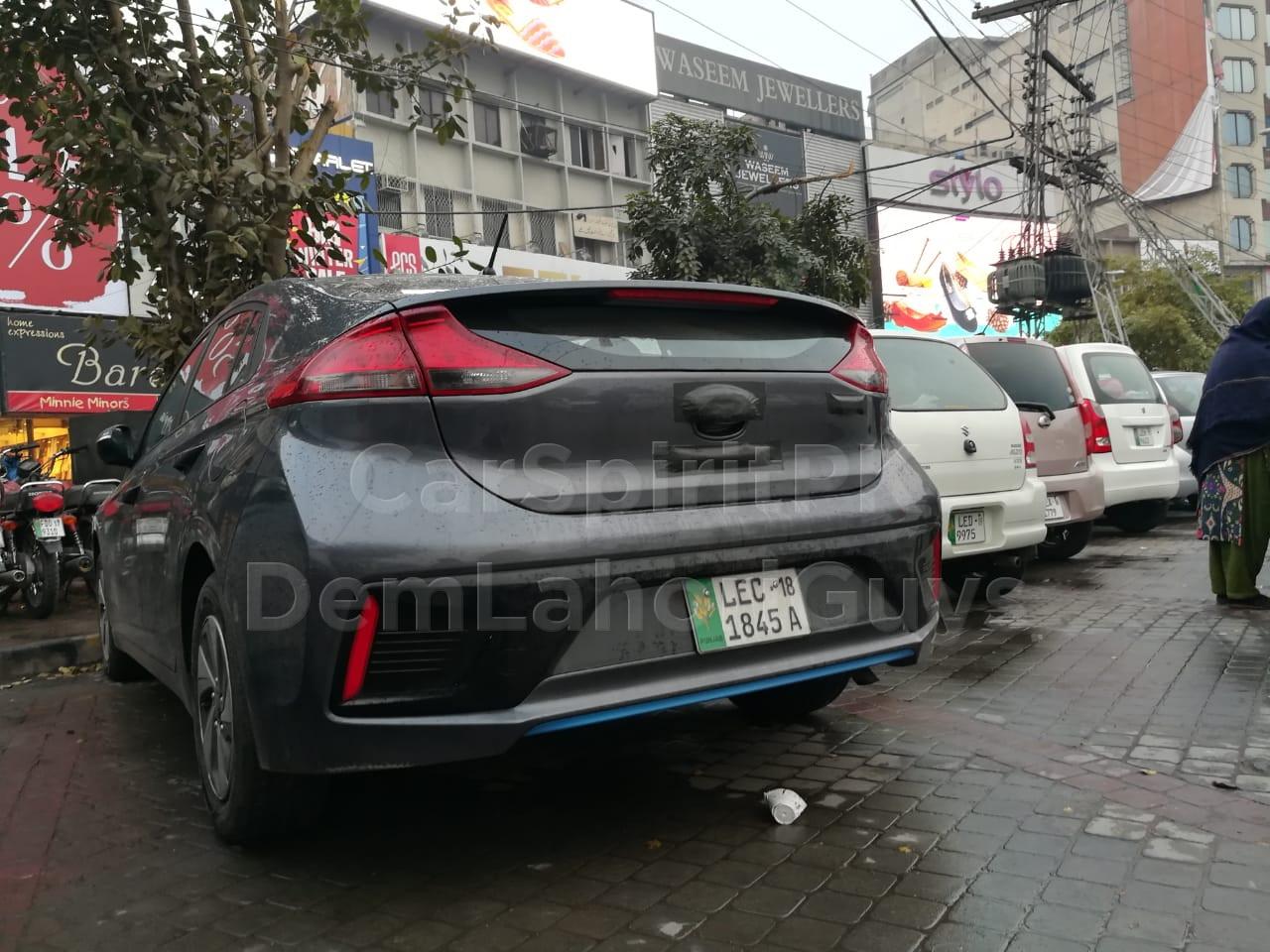 Hyundai Ioniq Hybrid Spotted Again 6