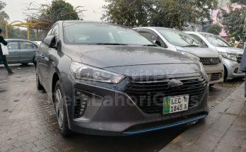 Hyundai Ioniq Hybrid Spotted Again 2