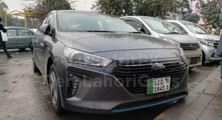 Hyundai Ioniq Hybrid Spotted Again 1