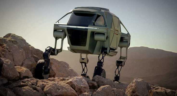 Hyundai Elevate- A Car That Can Walk on 4 Legs 1