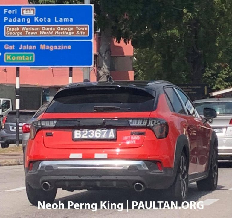 Entire Lynk & Co Range Spotted in Malaysia 4