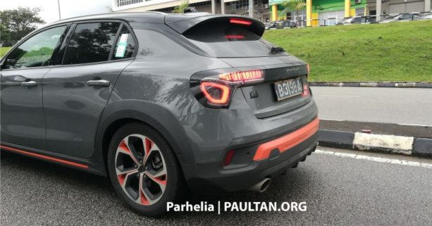 Entire Lynk & Co Range Spotted in Malaysia 6