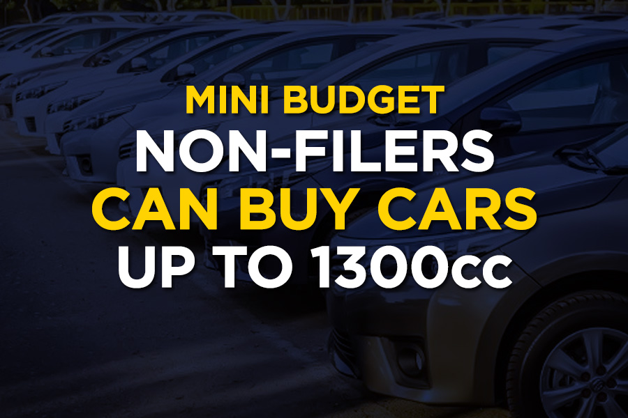 Non-Filers Allowed to Purchase Cars up to 1300cc 2