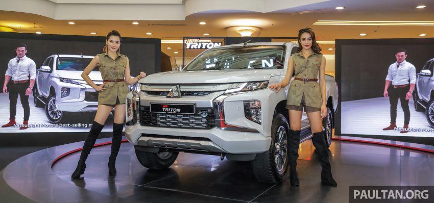 2019 Mitsubishi Triton Launched in Malaysia 1