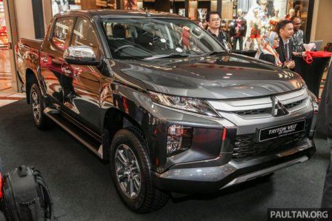 2019 Mitsubishi Triton Launched in Malaysia 12