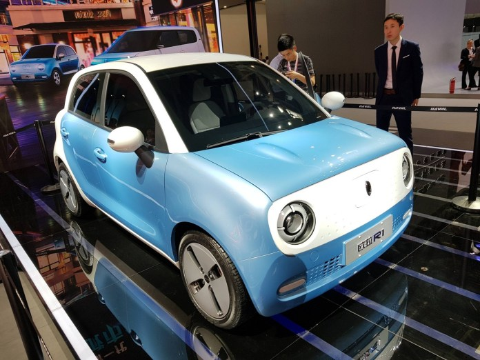 ORA R1 is the World's Cheapest Electric Car 6