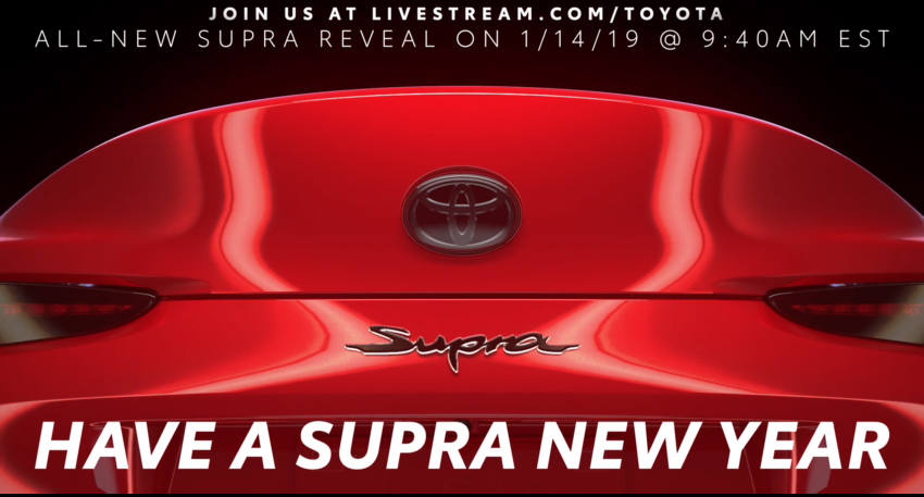 Toyota Supra A90 Accidentally Unveiled Ahead of Debut - CarSpiritPK