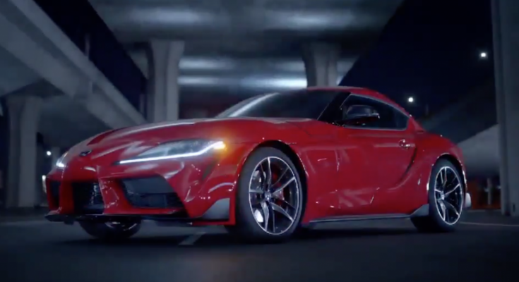 Toyota Supra A90 Accidentally Unveiled Ahead of Debut 1