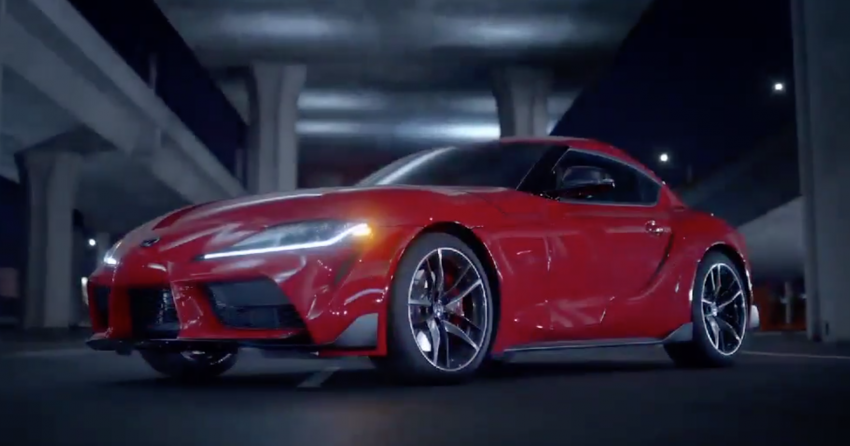 Toyota Supra A90 Accidentally Unveiled Ahead of Debut 2