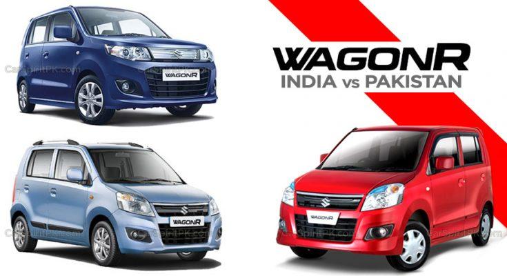 Suzuki Wagon R- Here vs There 1
