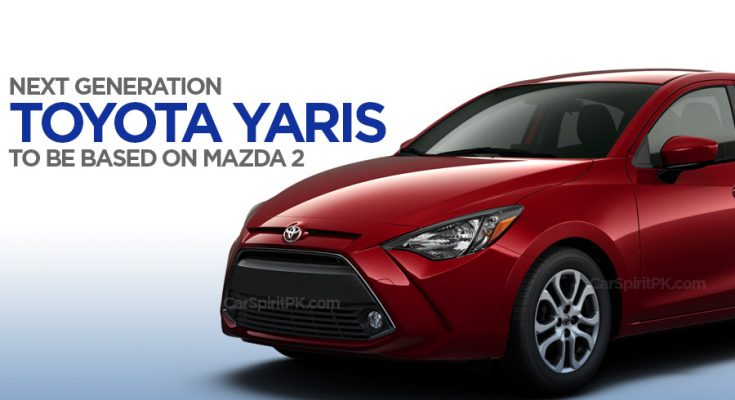 Next Gen Toyota Yaris to be Based on Mazda 2 1