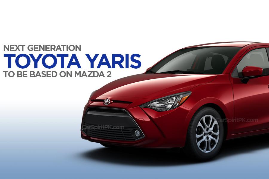 Next Gen Toyota Yaris to be Based on Mazda 2 1
