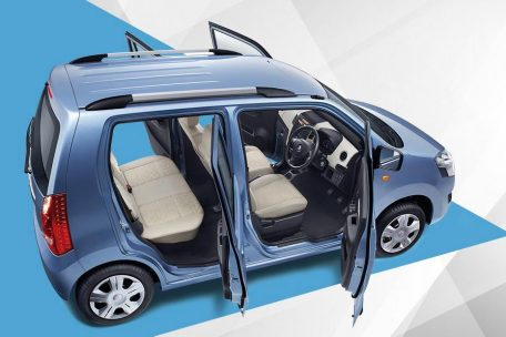 Suzuki Wagon R- Here vs There 12