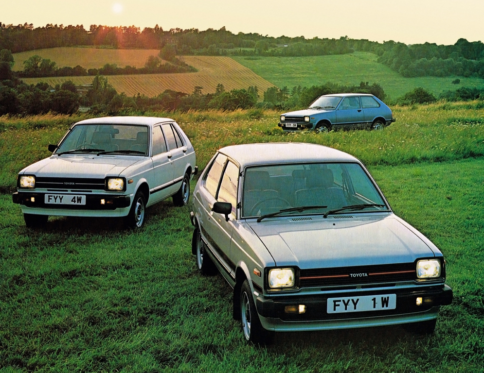 Remembering the Toyota Starlet 20