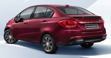 First Official Photos: 2019 Proton Persona Facelift 5