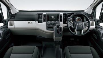 History of Toyota HiAce 45
