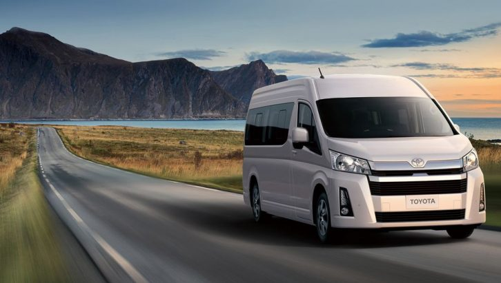 All New 2019 Toyota HiAce Debuts 15