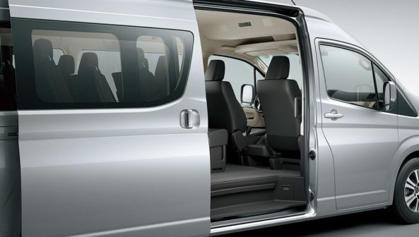All New 2019 Toyota HiAce Debuts 10