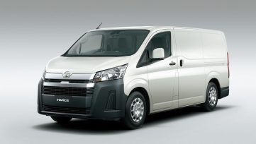 All New 2019 Toyota HiAce Debuts 7