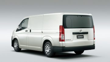 All New 2019 Toyota HiAce Debuts 9