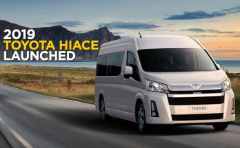 All New 2019 Toyota HiAce Debuts 4