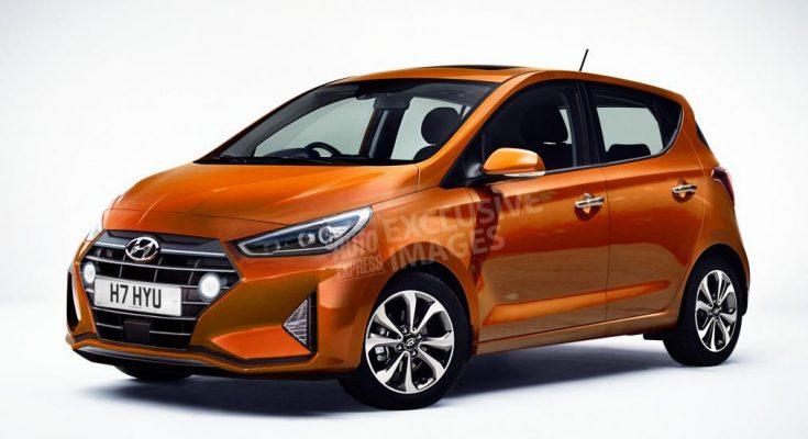 Next Generation Hyundai i10 Renderings 1