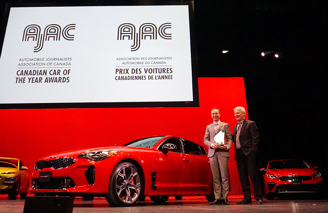 Kia Stinger and Forte Wins Canada's 2019 Car of the Year Award 2