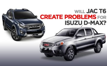 Will JAC T6 Create Problems for Isuzu D-Max? 8