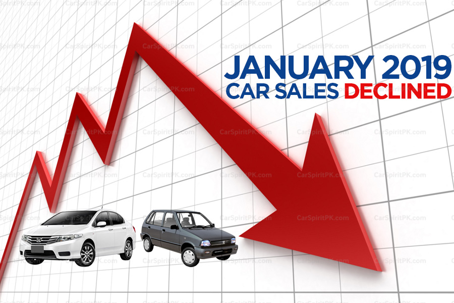 Car Sales Declined in January 2019 1
