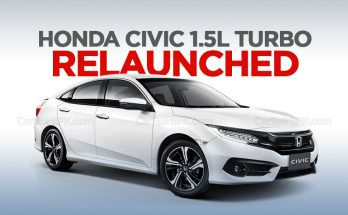 Honda Civic 1.5L Turbo Relaunched 4
