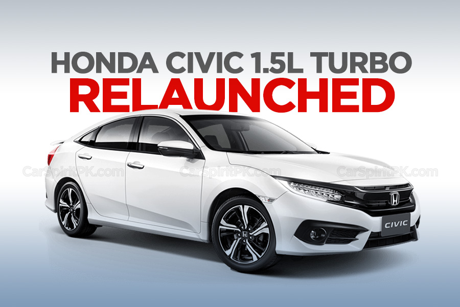 Honda Civic 1.5L Turbo Relaunched 1