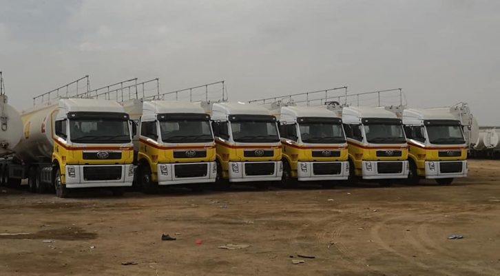 FAW Delivers OGRA Compliant Trucks to Shell and PSO 7