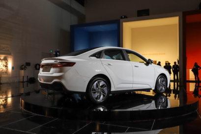 Geely Unveils GE11 Electric Sedan 5